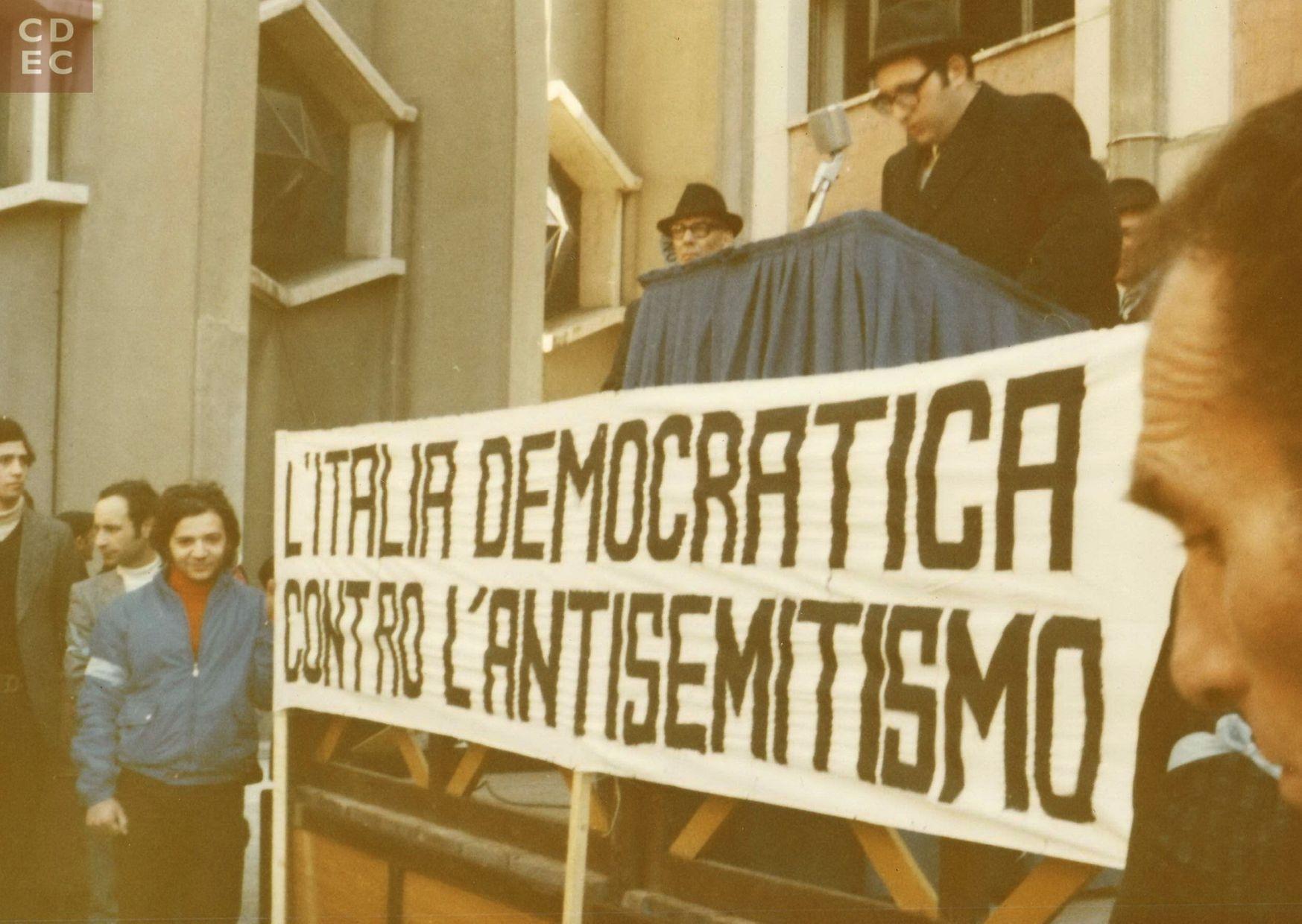 La nascita dell'Osservatorio antisemitismo