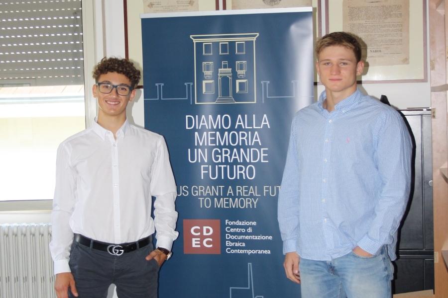 I ragazzi del Servizio austriaco all'estero volontari alla Fondazione CDEC