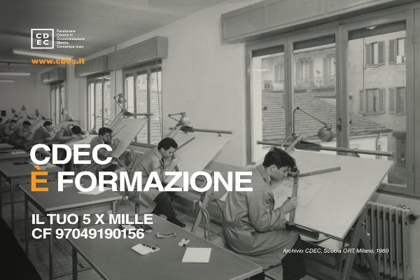 Il 5×1000 alla Fondazione CDEC