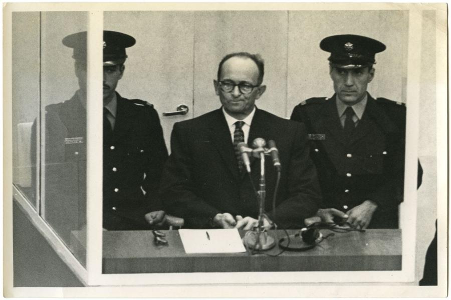 Sessant'anni dal processo Eichmann, i documenti dell'Archivio CDEC